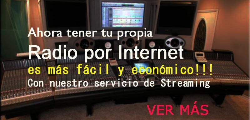 EMITIR RADIO POR INTERNET