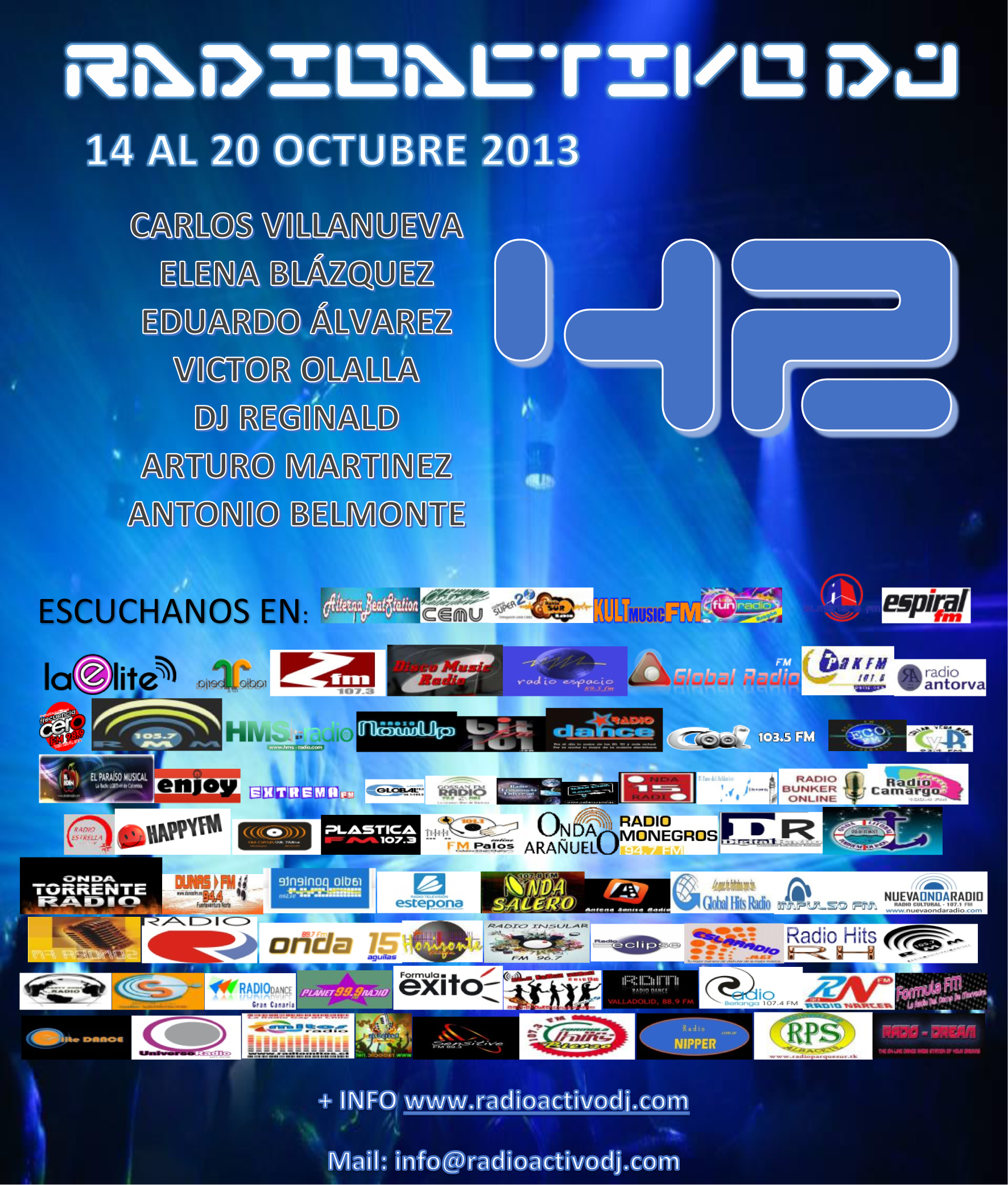 RADIOACTIVO DJ 42-2013