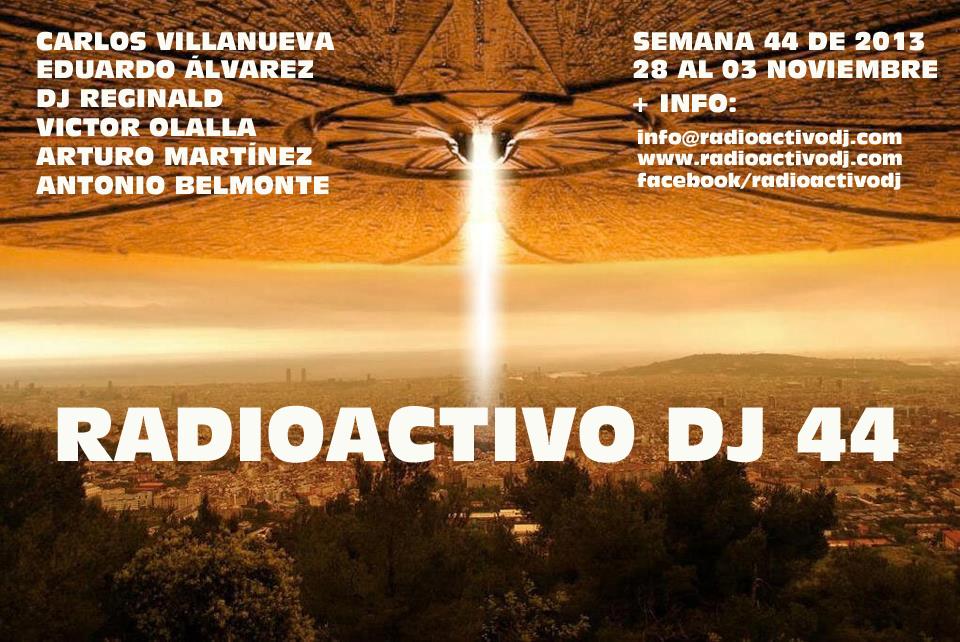 RADIOACTIVO DJ 44 BY CARLOS VILLANUEVA