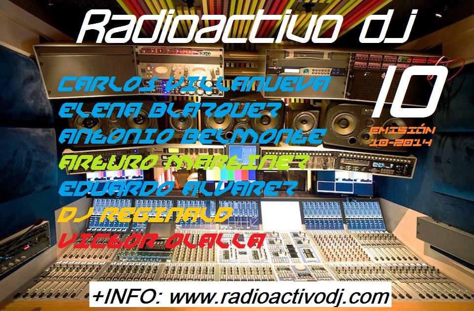 RADIOACTIVO DJ 10-2014