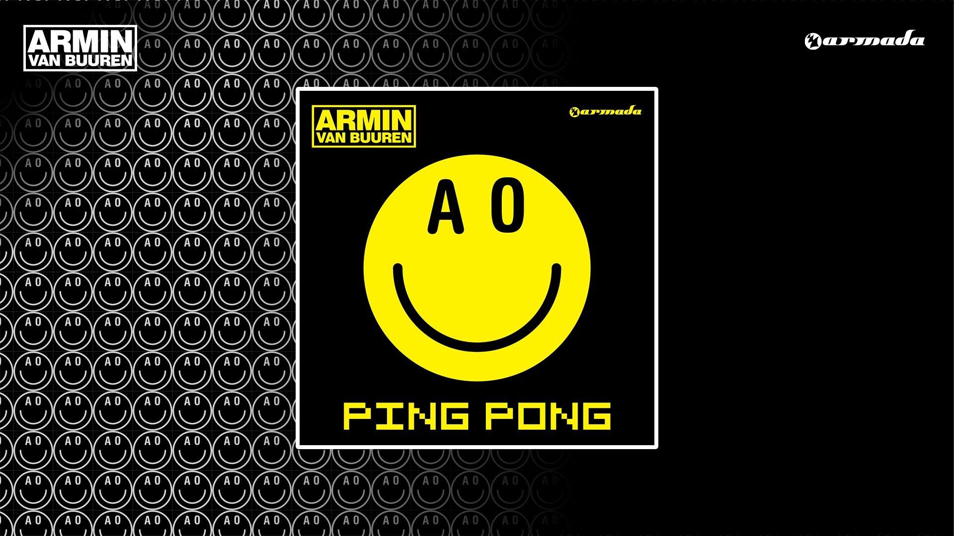 ARMIN VAN BUUREN-PING PONG