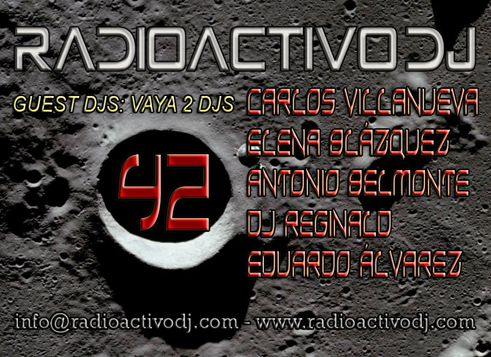 RADIOACTIVO DJ 42-2014