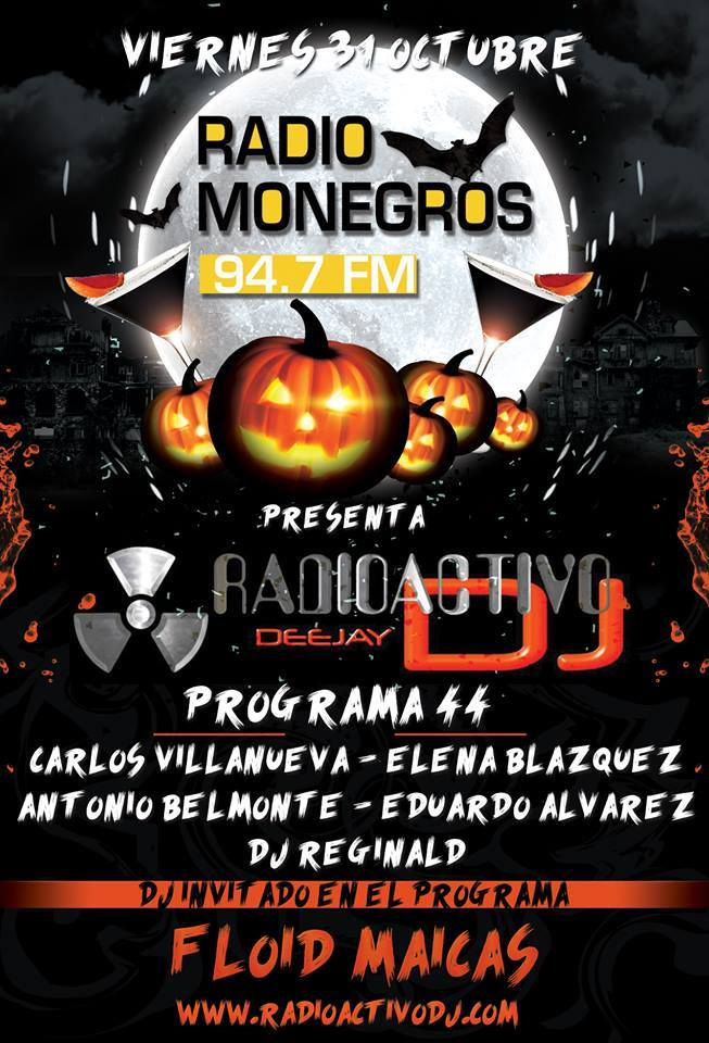 RADIOACTIVO DJ 44-2014