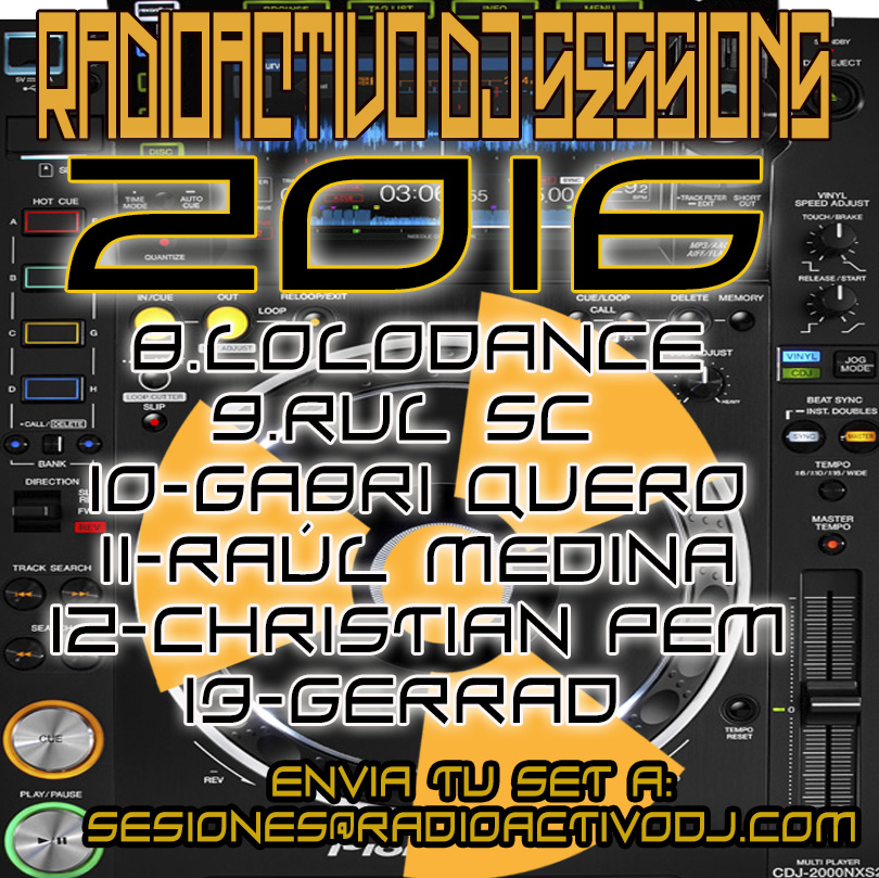 RADIOACTIVO DJ SESSIONS 2016-3