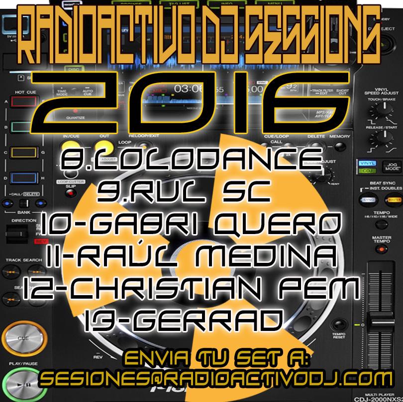 RADIOACTIVO DJ SESSIONS 2016-3