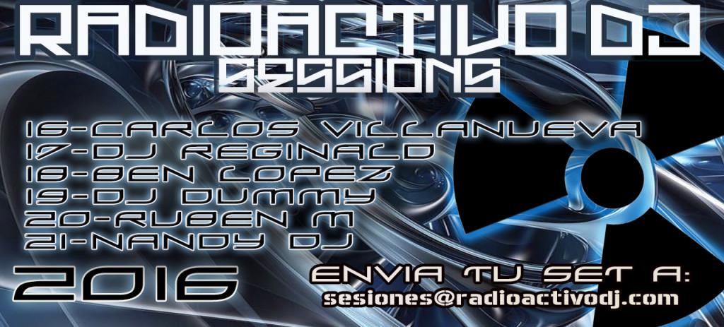 RADIOACTIVO DJ SESSIONS 2016-7