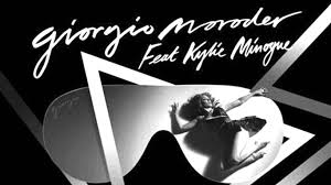 Moroder y kylie Minogue