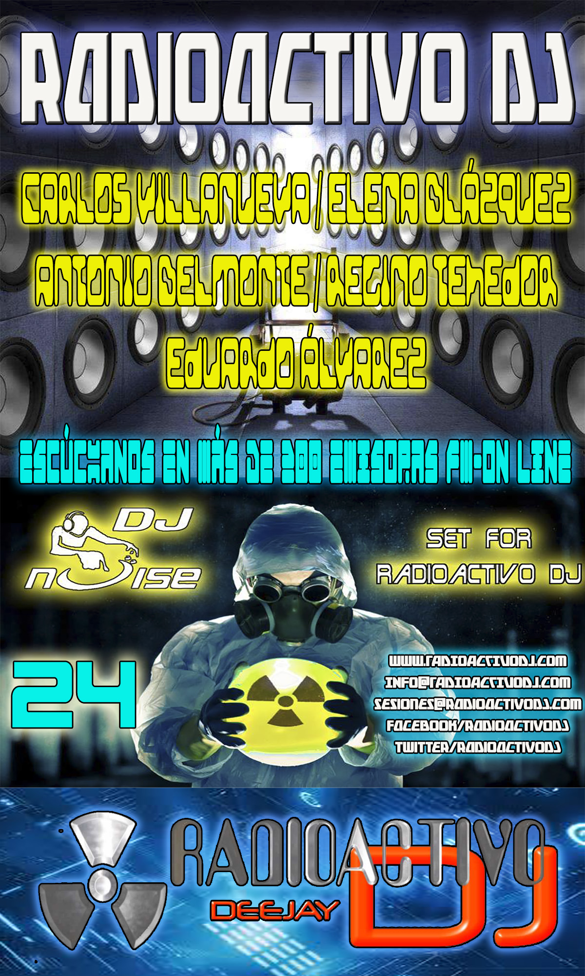 RADIOACTIVO DJ 24-2015