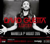 DAVID GUETTA -MARBELLA 2015