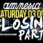 AMNESIA CLOSING PARTY 2015