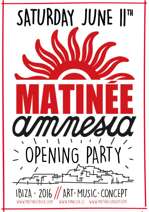 MATINEE OPENNING PARTY 2016