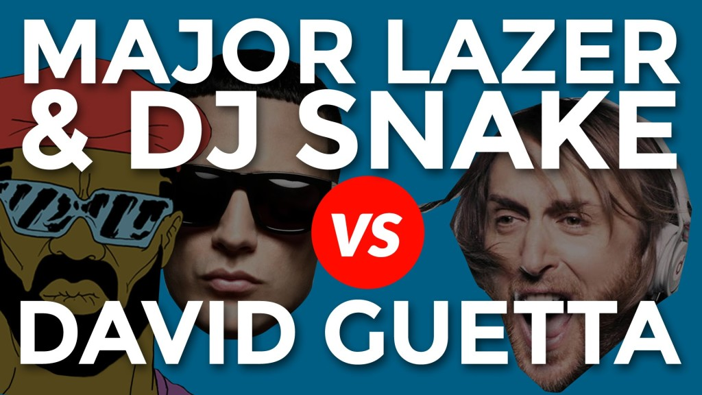 major lazer vs david guetta