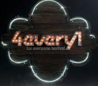 4EVERY1 FESTIVAL- CAMBIA FECHA Y UBICACIÓN
