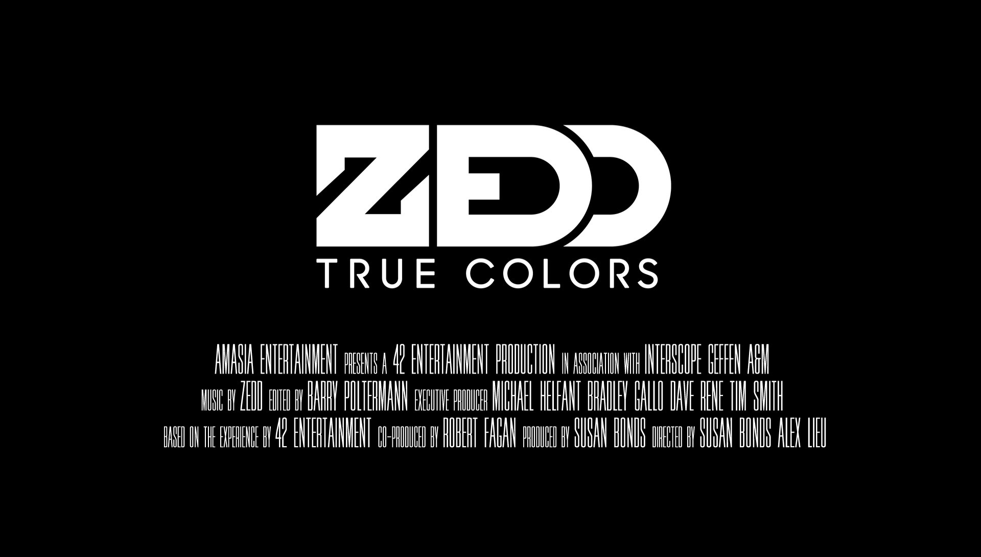 ZEDD - DOCUMENTAL TRUECOLORS