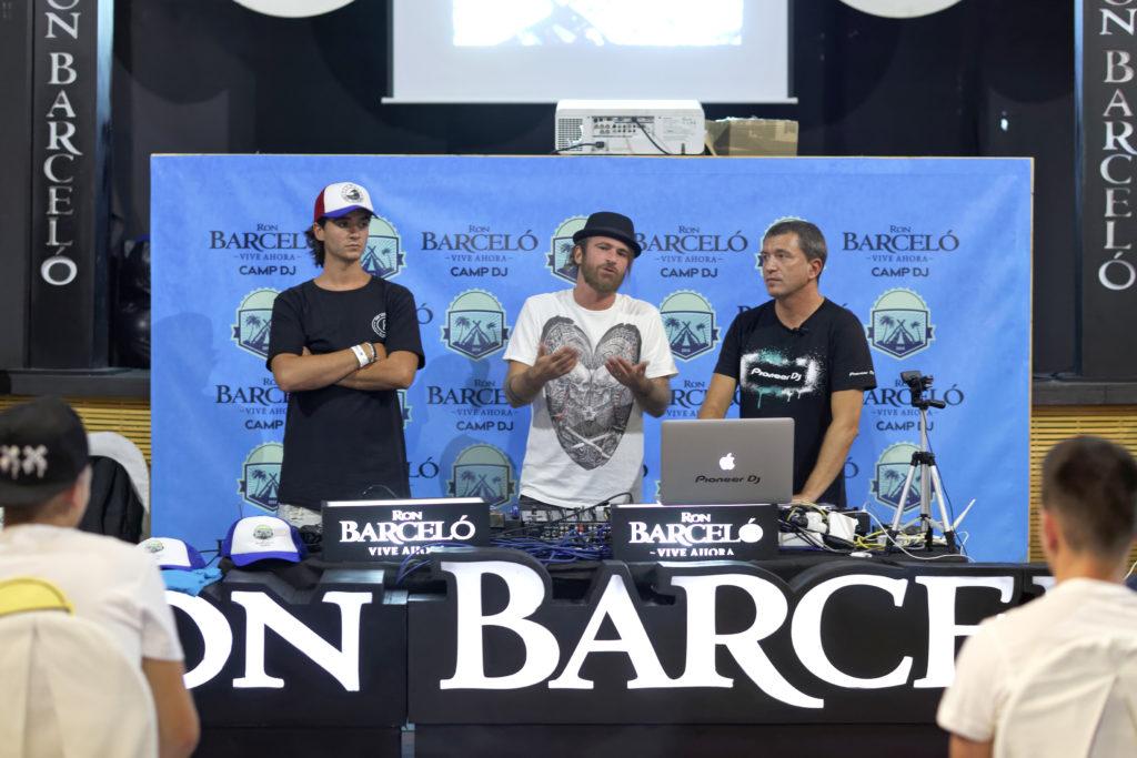 JPCandela, Sandro Dávila y Jordi Carreras
