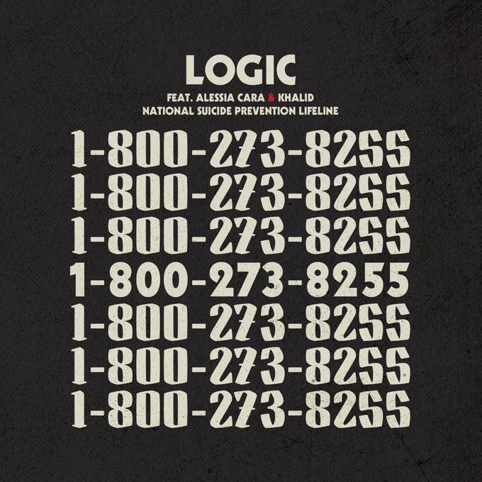"""America"" single artwork for Logic. Art direction by Sam Spratt. Graphic Design by Kendall Lock"