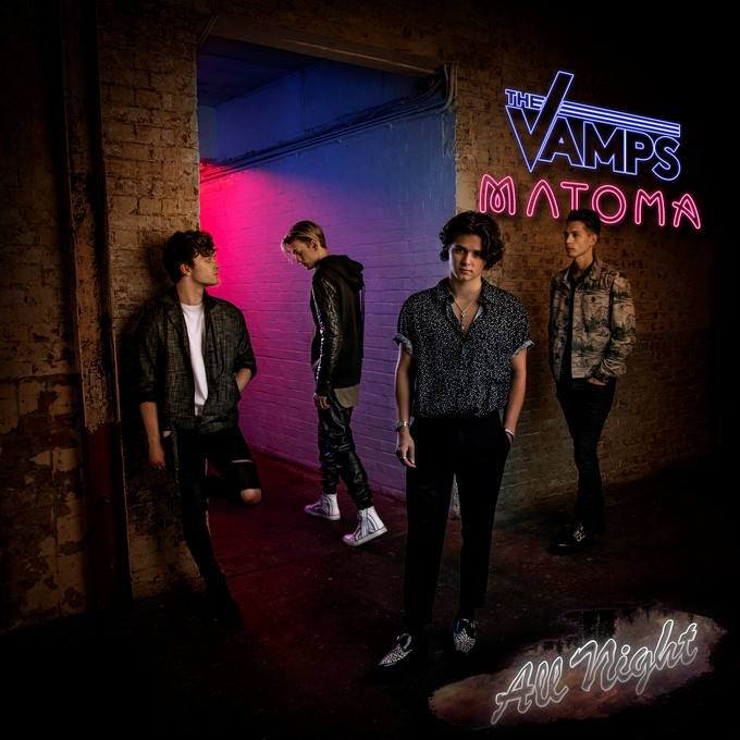 THE VAMPS & MARTIN JENSEN - MIDDLE OF THE NIGHT (REMIXES)