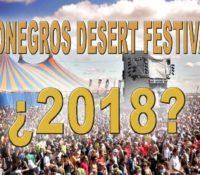 MONEGROS DESERT FESTIVAL 2018