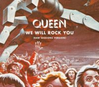 QUEEN – WE WILL ROCK YOU (RAW SESSIONS VERSION)