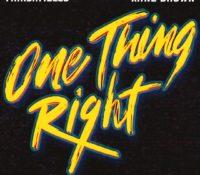 MARSHMELLO & KANE BROWN-ONE THING RIGHT